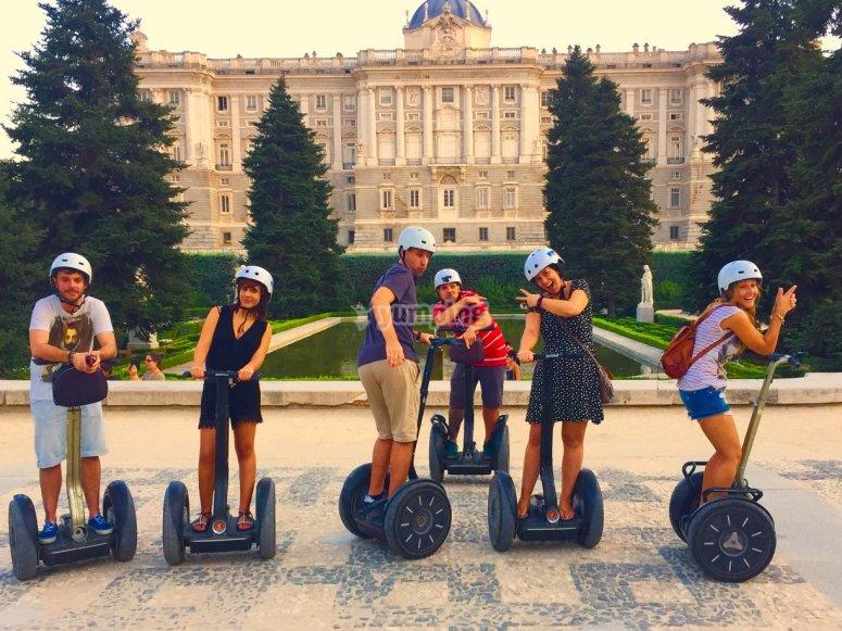 Segways in Madrid
