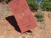 Directions on the route in MTB