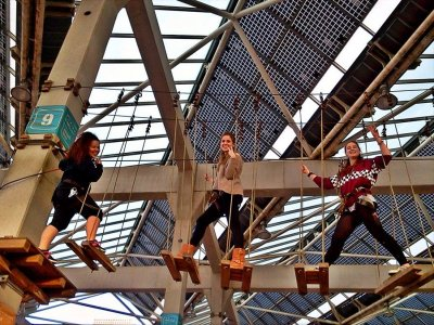 Family Plan: Adventure Park in Barcelona