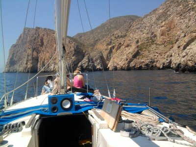 Practise lessons for Yachtmaster in Águilas