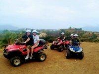 Salida de quad en Malaga