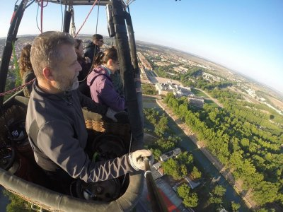 Vuelo en globo en Guadarrama entre semana + fotos