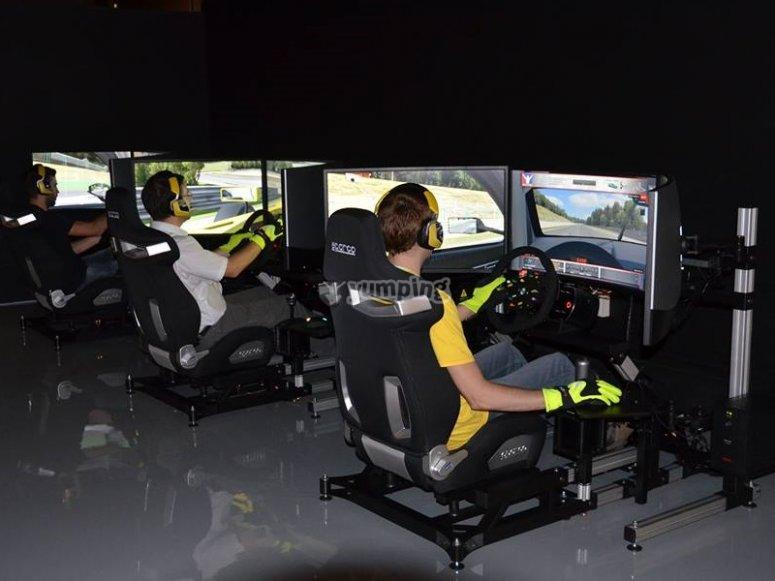 Driving simulator in Las Rozas, 1 hour