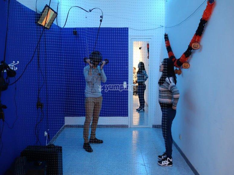 Instalaciones de realidad virtual