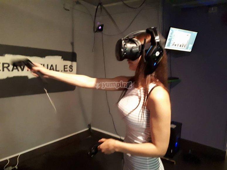 Juego de realidad virtual
