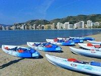 Kayak ti aspetta sulla costa di Valencia
