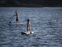 El paddle surf te ayudara a poner en marcha tus musculos