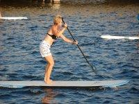 El paddle surf es un deporte apto para todas las edades