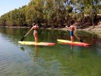 Paddle surf en la provincia de Badajoz