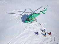 Combina un vuelo en helicóptero con snow
