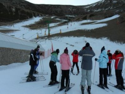 Escuela de Esquí Valle de Ezcaray Snowboard
