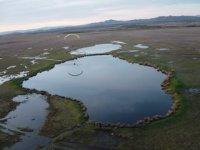 Reflejados en las Lagunas de Villafafila