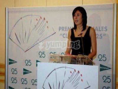 Edurne Pasaban premiada por el Club de las 25