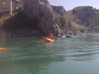 Kayak ride for groups reservoirs of Murcia