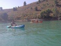 穆尔西亚水库的皮划艇租赁