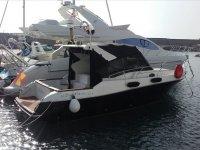 Barco en el puerto de Castellon