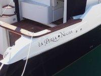 Lateral embarcacion Perla Negra