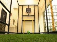 Mini campo de futbol indoor