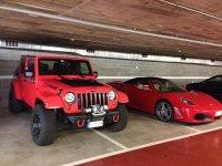 Conduccion de Ferrari y otros vehiculos