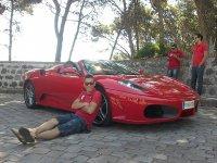 Uno de nuestros pilotos de Ferrari
