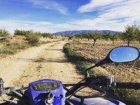 Camino de tierra en quad