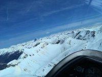 Flight over the Aragonese Pyrenees