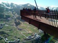 Mirador desde montaña en Andorra