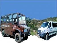 Vehículos 4x4 para visita guiada en Ordino