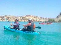Kayak en embalse de Murcia