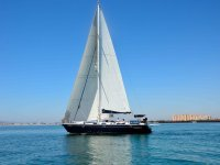 Sailing in the Mar Menor