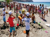 Sandcastle competition Club Camp