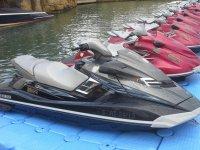 Motos nauticas en el puerto de Javea