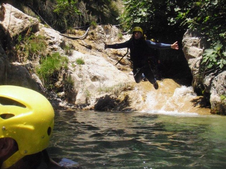 练习峡谷-99-在瓜达山的绳索下降