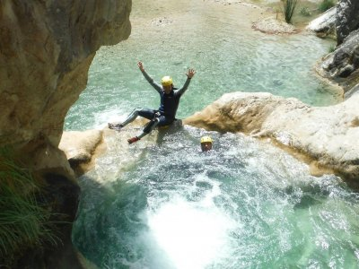 Canyoning in Guadajama River