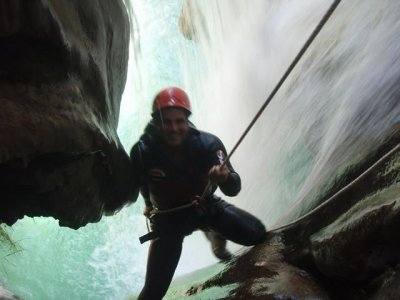 Medium level canyoning, River Verde