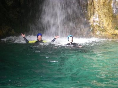 Canyoning in the river Lentegí