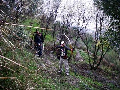 Tour di tiro con l'arco nella foresta di Lanjarón