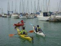Travesia kayak tradicional