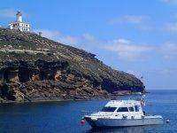 Faro desde el barco