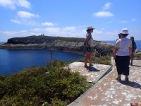 paseo a pie en las islas