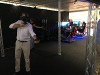 Probando los juegos VR