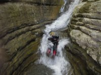 Canyoning in Escalona