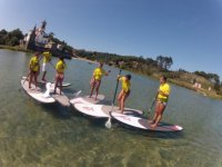 Group of sup before the route