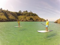 Couple on route of sup