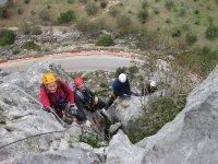 escalada escalones