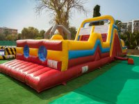 Inflatable challenges in Mallorca