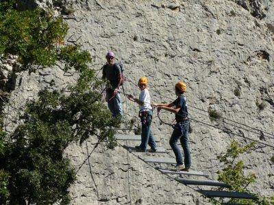Nómadas del Pirineo Vía Ferrata