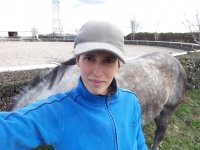 Instructora de equitacion