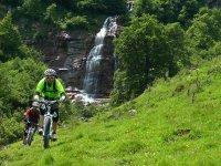 Cycling through the Ordesa Valley