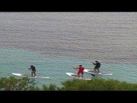 gruppo paddle surf